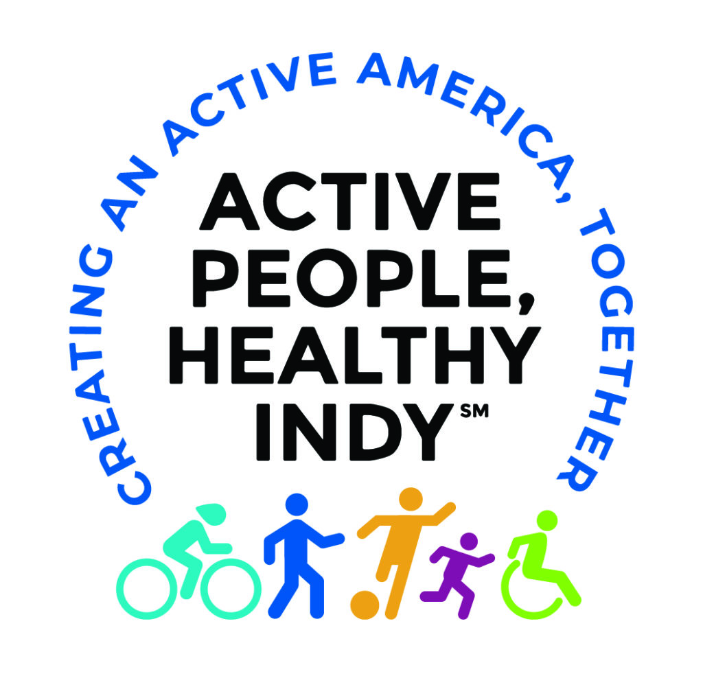 Design logo for Active People, Healthy Indy, a new wellness campaign led by the Marion County Department of Public Health